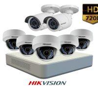پکیج ۷ عدد دوربین مداربسته هایک ویژن HD