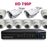پکیج ۱۰ عدد دوربین مدار بسته HD