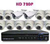 پکیج ۱۲ عدد دوربین مدار بسته HD