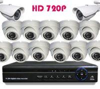 پکیج ۱۳ عدد دوربین مدار بسته HD