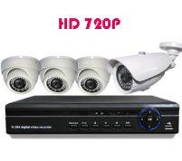 پکیج ۴ عدد دوربین مدار بسته HD