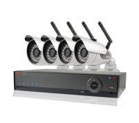 پکیج ۴ عدد دوربین مدار بسته بیسیم با قابلیت تقویت سیگنال